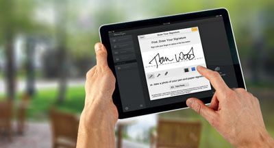 eSignatures and electronic signing