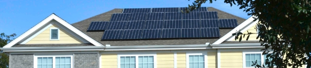 Energy efficiency with solar