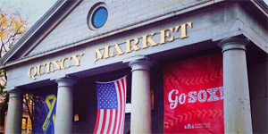 Quincy Market Boston Strong